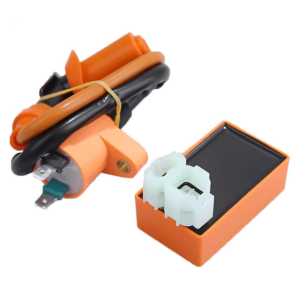Zreneyfex Ignition Coil CDI Box for Honda Foreman 400 450 TRX400 450 FourTrax Foreman 38710-HM7-004