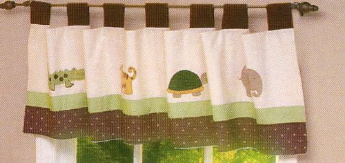 Jungle Mania Window Valance by Nojo – 60 in x 14 in, Baby & Kids Zone