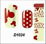 1-Sets Good Popular Hot Nails Art Wraps Stickers Decoration Tips Water Transfers Pedicure Tool Fashion Style D1024