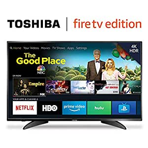 Amazon.com  Toshiba 50LF621U19 50-inch 4K Ultra HD Smart LED TV HDR ... 308c806e52