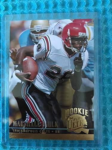 Marshall Faulk - 1994 Ultra #133 Rookie - Indianapolis Colts / St Louis Rams / San Diego State / Hall of Famer / MVP