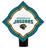 NFL Jacksonville Jaguars Vintage Art Glass Nightlight