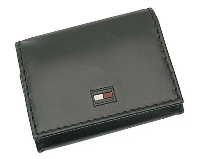 1c300bdc6ce2 (トミーヒルフィガー) TOMMY HILFIGER 小銭入れ コインケース 31TL25X015 黒 ブラック レザー 牛革 メンズ