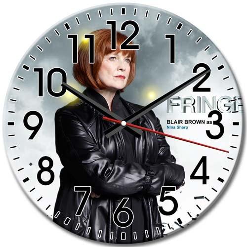 Round Wall Clock Pattern Silent Simple Fringe Frameless Arabic Numbers 10 Inch / 25 cm Diameter