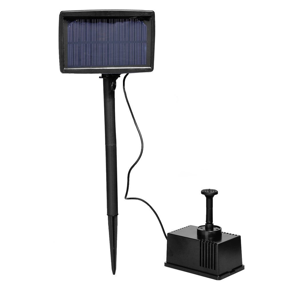 TOOGOO(R) Solar Panel Powered Fountain Garden Pool Pond Submersible Water Pump 5m by TOOGOO(R) (Image #1)