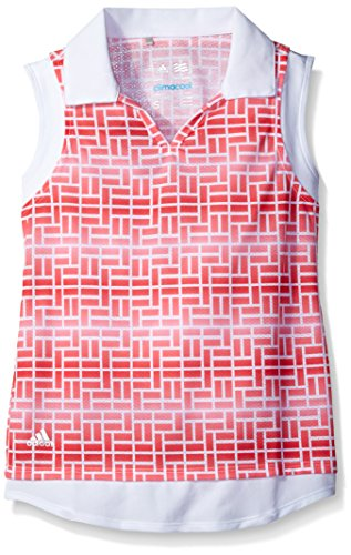 Girls Sleeveless Polo Top - 2