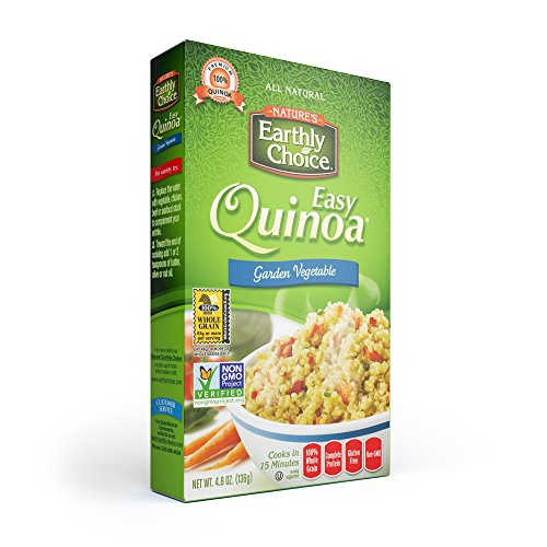 Nature's Earthly Choice Easy Quinoa Garden Vegetable, 6 x 4.8 ounce by Nature's Earthly Choice