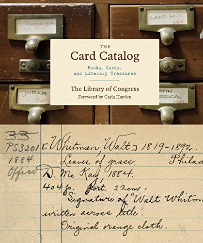 The Card Catalog: Books, Cards, and Literary Treasures cover