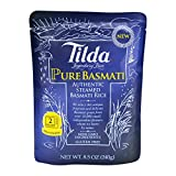Tilda Legendary Rice Steamed Basmati, Pure, 8.5 Ounce