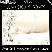 Sibelius: Songs Volume 1