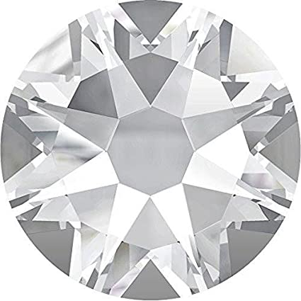 4ba61411a Amazon.com: 2000, 2058 & 2088 Swarovski Flatback Crystals Non Hotfix Crystal  | SS3 (1.4mm) - Pack of 100 | Small & Wholesale Packs: Arts, Crafts & Sewing