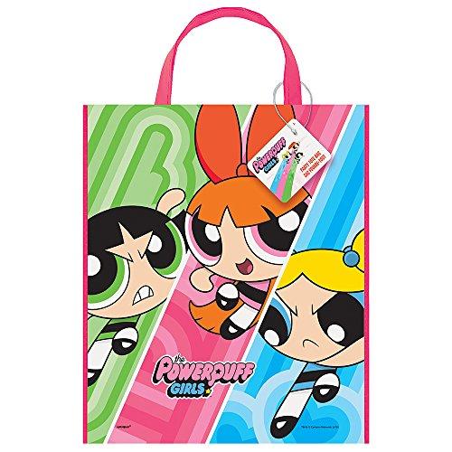(Large Plastic Powerpuff Girls Goodie Bag, 13