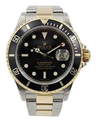 Rolex Submariner Swiss-Automatic Male Watch 16613 (Certified Pre-Owned) by Rolex
