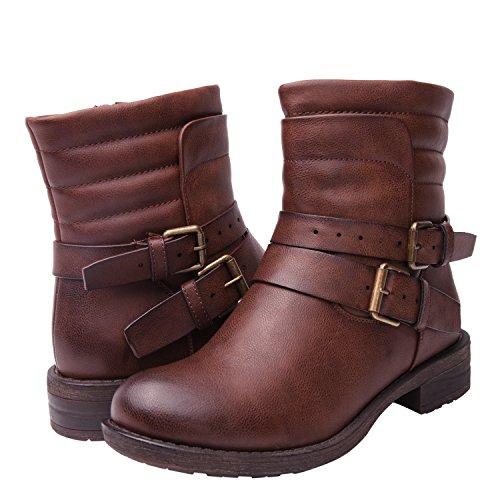 Women's KadiMaya1617-4 Boots  Brown 6.5 B(M) US (Boots Womens Iv)