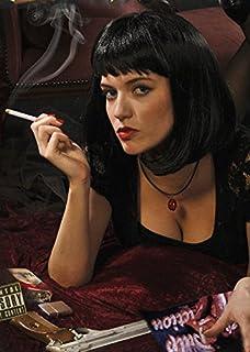 Pulp Fiction Style Black Mia Wig