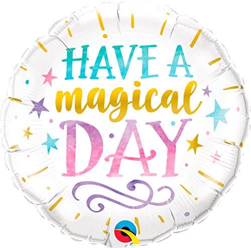 Burton & Burton Qualatex 18 Inch Circle Foil Balloon-Have a Magical Day