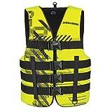 BRP Sea-Doo Unisex Nylon Navigator Life Jacket Vest PFD YELLOW 2X/3X