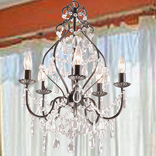 Jojospring Bethany 5-Light Candle Chandelier