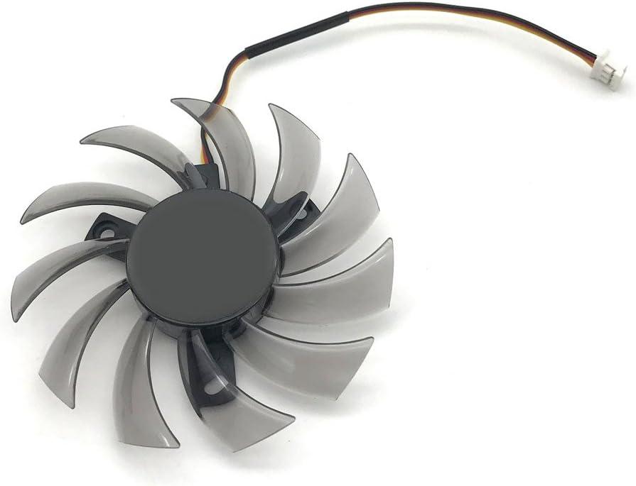 PLD08010S12H 75mm DC12V 0.25A 3Pin Cooling Fan Gigabyte Geforce GTX 570 630 750TI Graphics Card
