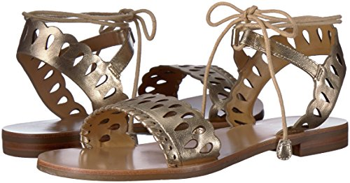 Jack Rogers Women's Ruby Flat Sandal, Platinum, 7 Medium US by Jack Rogers (Image #5)