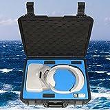 DZT1968 Shockproof Hard Waterproof Handbag Case Protective Case Carbon Hard Bag For DJI VR Goggles 41x33.5x14cm