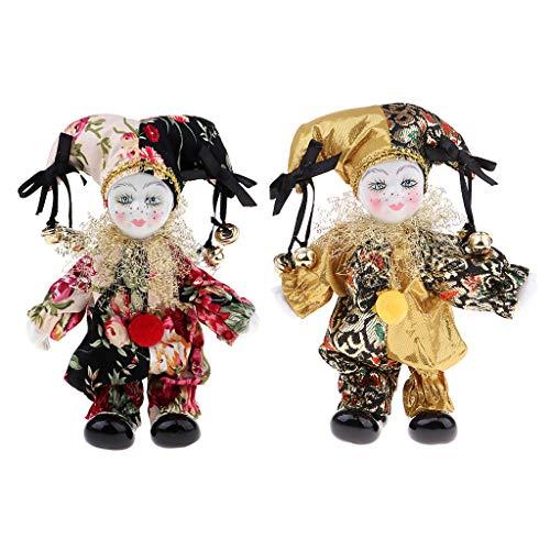 - Fenteer 6inch Porcelain Dolls Italian Eros Triangel Dolls Model for Dollhouse Decor