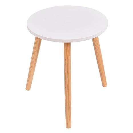 Sensational Amazon Com Round Coffee Tea Side Sofa Table Living Room Pabps2019 Chair Design Images Pabps2019Com
