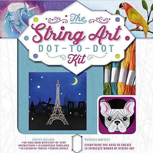 String Art Instructions - String Art Dot-to-Dot