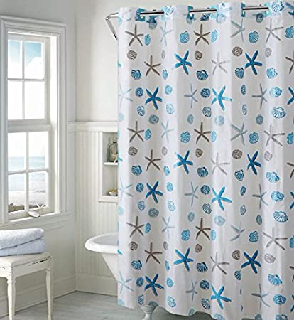 Image Unavailable Not Available For Color Hookless PEVA Shower Curtain