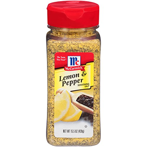 McCormick Perfect Pinch Lemon & Pepper Seasoning, 15.5 (Mccormick Lemon Pepper)