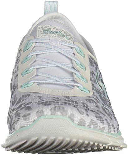 Damen Sneaker Glider Weiß Weiß Skechers Skechers Damen Glider Skechers Sneaker wS77OA