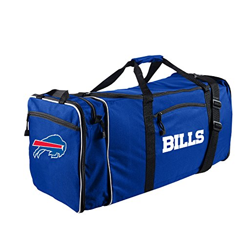 Northwest Nfl Buffalo - The Northwest Company NFL Buffalo Bills NFL Steal Duffel, Navy, Measures 28