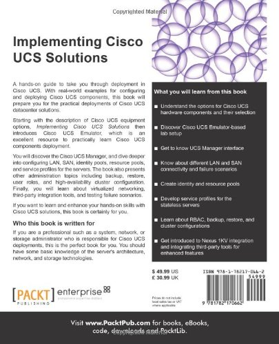 Implementing Cisco UCS Solutions: Amazon co uk: Farhan Ahmed Nadeem