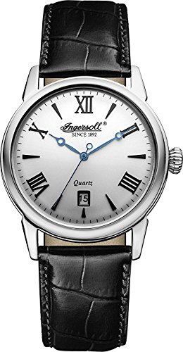 Ingersoll Men's INQ001SLBK Grafton Analog Display Japanese Quartz Black Watch