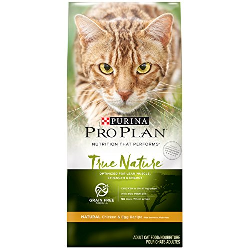 Purina Pro Plan Grain Free, Natural Dry Cat Food, TRUE NATURE Chicken & Egg Recipe - 6 lb. Bag