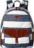 Roxy Junior's Carribean Backpack, Marshmallow Dress Blue Docker, 1SZ