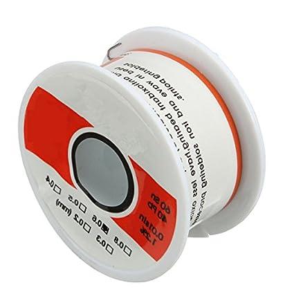 60sn 40pb 0.6mm 50g 1.2/% Tin Lead Rosin Core Solder Soldering Wire Tools