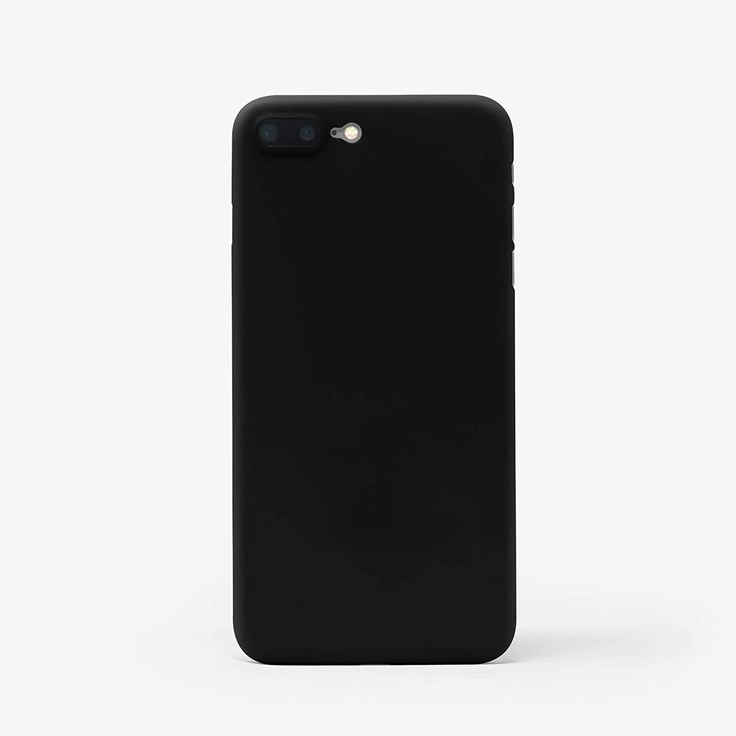 on sale 02434 26187 Casedodo Ultra Thin Matte Finish Back Case Cover for Apple iPhone 8 Plus  (Classic Black) 5.5
