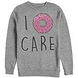 CHIN UP I Donut Care Womens Graphic Sweatshirt