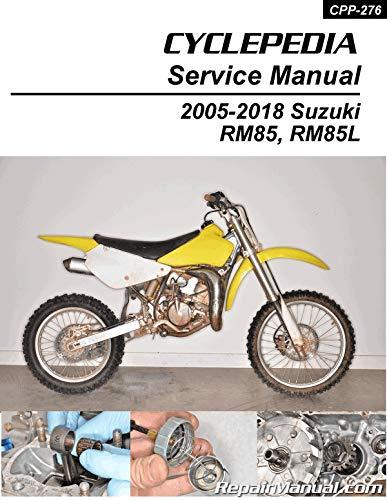 Cyclepedia Rm85 Suzuki Manual 2005 2018 Cyclepedia