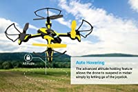 Tenergy TDR Phoenix Mini RC Quadcopter Drone with HD Video Camera, Auto Hovering, Mini RC Drone with 720P HD Camera by Tenergy