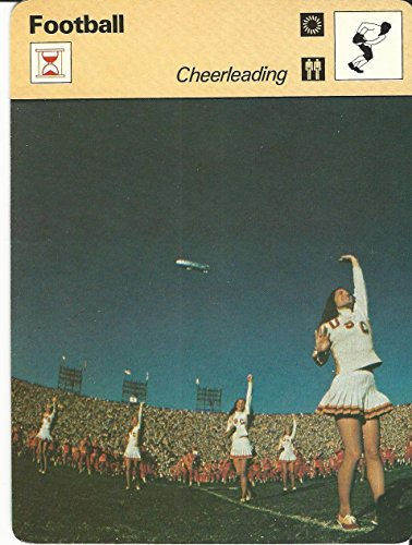 - 1977-79 Sportscaster Card, 42.24 Football, Cheerleading, USC