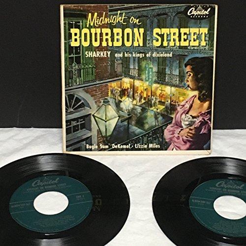 MIDNIGHT ON BOURBON STREET SHARKEY AND HIS KINGS OF DIXIELAND - Stores On Street Bourbon