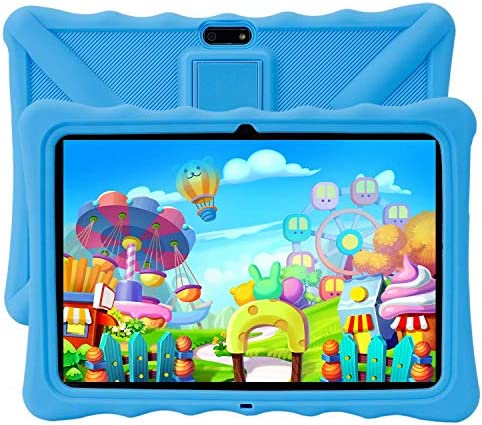 "Kids Tablet PC, Veidoo 10.1"" Android Tablet PC, 1280 x 800 HD IPS Screen, 1GB Memory, 16GB Storage, Premium Parent Control Pre-Installed Educational APP, Tablet PC for Student (Blue)"
