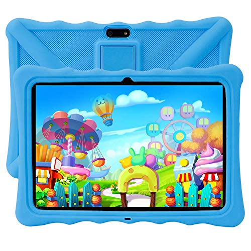 Kids Tablet PC, Veidoo 10.1″ Android Tablet PC, 1280 x 800 HD IPS Screen, 1GB Memory, 16GB Storage, Premium Parent Control Pre-Installed Educational APP, Tablet PC for Student (Blue)