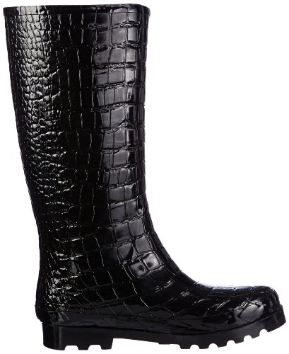 Schwarz Osterhorn Schwarz Giesswein 022 Black H WoMen Boots Rubber 37cm 0nPZq1a