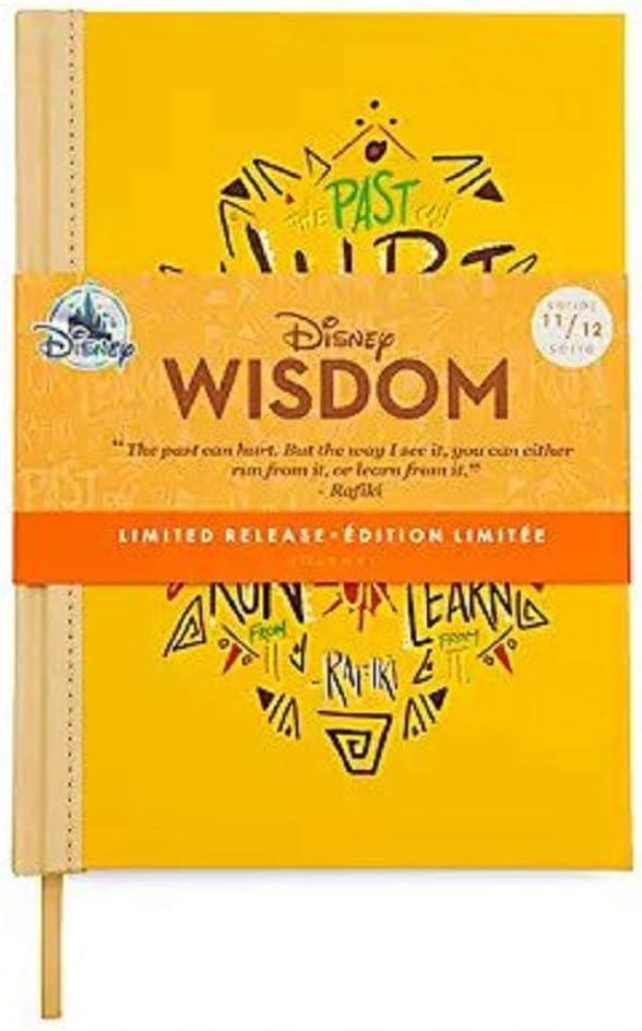 The Lion King Limited Release November Disney Wisdom Journal Simba