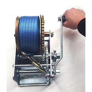 3200 LB Boat Winch Trailer Hand Crank Winch All Purpose Winch