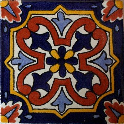 3x3 12 pcs Picota Talavera Mexican Tile