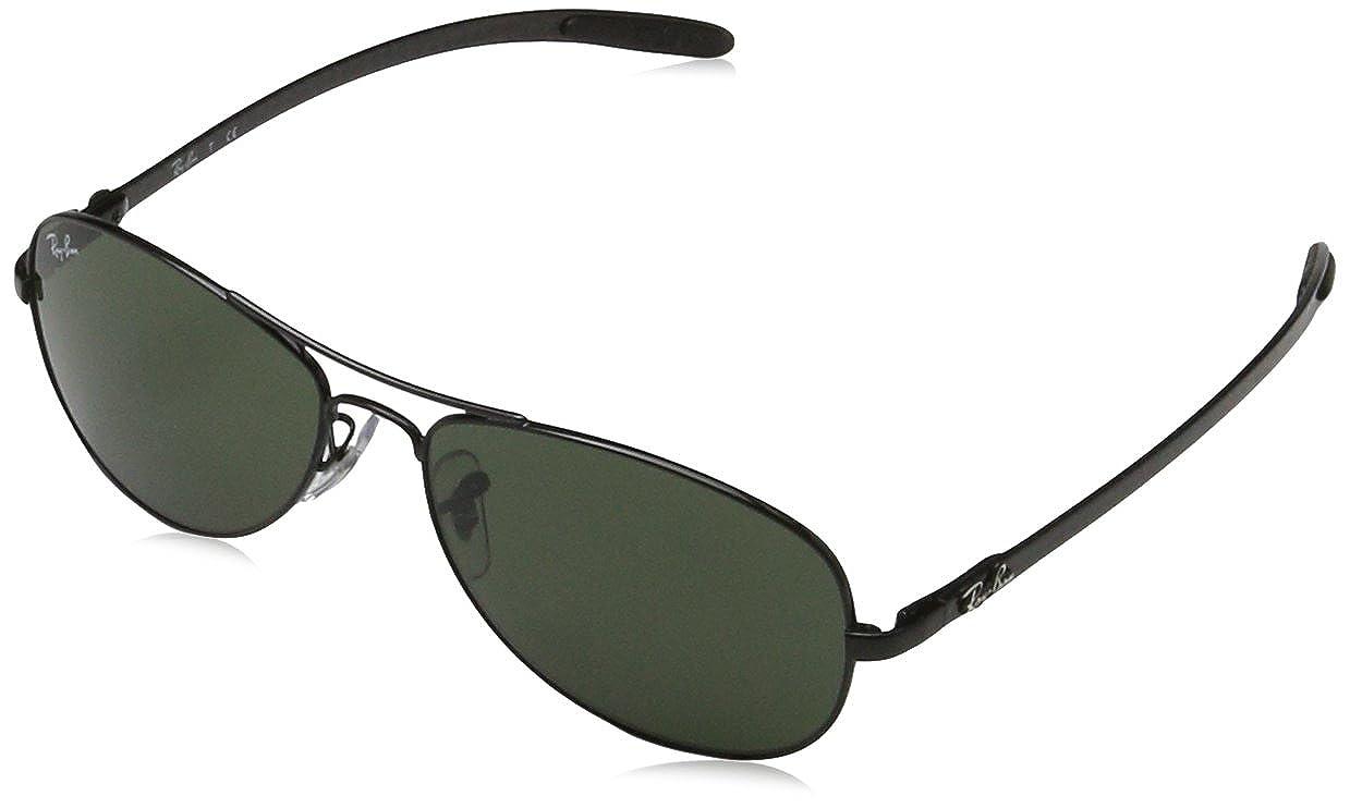 e823a24816 Amazon.com  Ray-Ban RB8301 - BLACK Frame CRYSTAL GREEN Lenses 56mm  Non-Polarized  Clothing